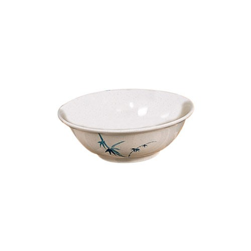 Blue Bamboo Melamine 17 Oz. Rimless Bowl - 6-1/5