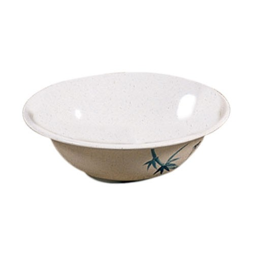 Blue Bamboo Melamine 21 Oz. Asian Noodle Bowl - 6-4/5