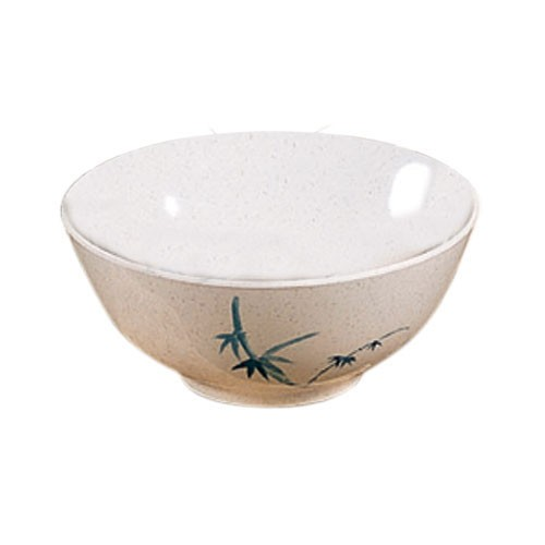 Thunder Group 5206BB Blue Bamboo Melamine Rice Bowl 25 oz., 5-7/8""