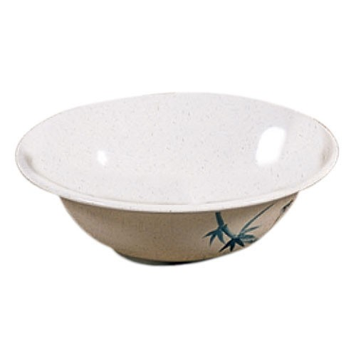 Thunder Group 5108BB Blue Bamboo Melamine Deep Bowl 34 oz.