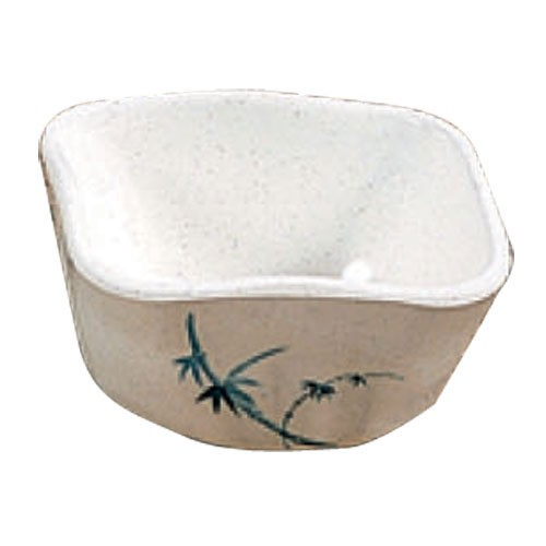 Thunder Group 1035BB Blue Bamboo Melamine Side Dish 6 oz.