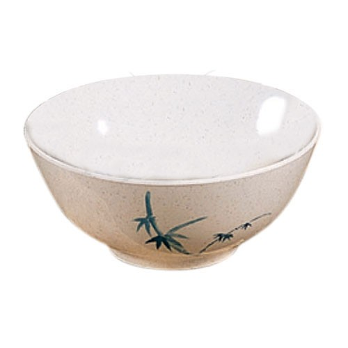 Blue Bamboo Melamine 30 Oz. Asian Noodle Bowl - 7