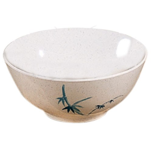 Blue Bamboo Melamine 45 Oz. Rice Bowl - 8