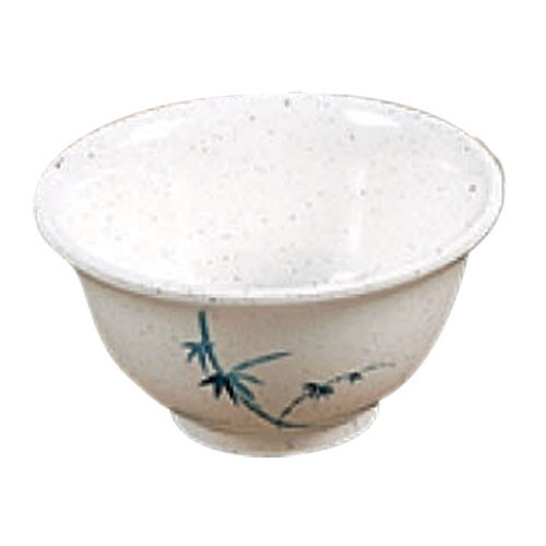 Blue Bamboo Melamine 5 Oz. Rice Bowl - 3-3/4