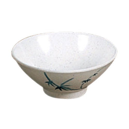 Thunder Group 3005BB Blue Bamboo Melamine Rice Bowl 8 oz.
