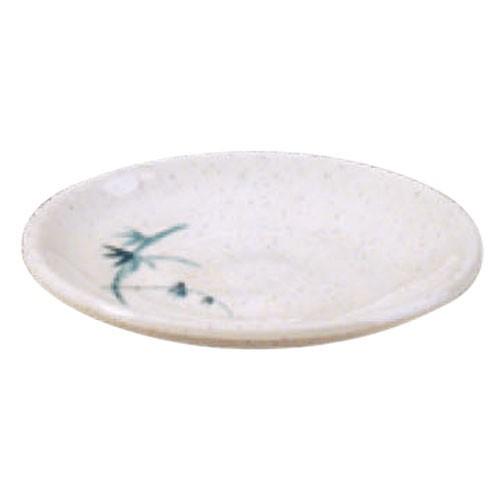Blue Bamboo Melamine Saucer - 3-3/4