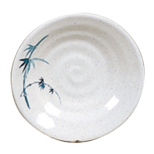 Thunder Group 1365BB Blue Bamboo Melamine Soup Plate 6-1/2""