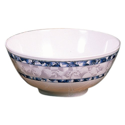 Thunder Group 5207DL Blue Dragon Melamine Rice Bowl 39 oz., 7""