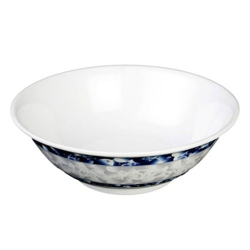 Blue Dragon Melamine 45 Oz. Rimless Bowl - 8-3/4