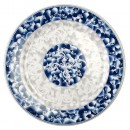 Thunder Group 1006DL Blue Dragon Melamine Round Plate 6""