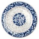 Blue Dragon Melamine Round Plate - 10-3/8
