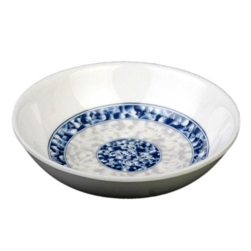 Thunder Group 1101DL Blue Dragon Melamine Sauce Dish 1 oz.