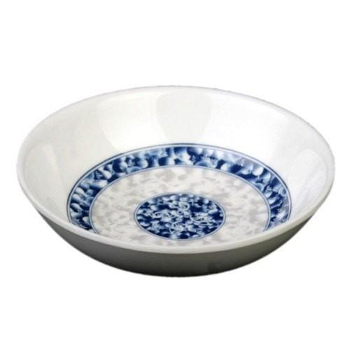 Thunder Group 1101DL Blue Dragon Melamine Sauce Dish 1 oz.