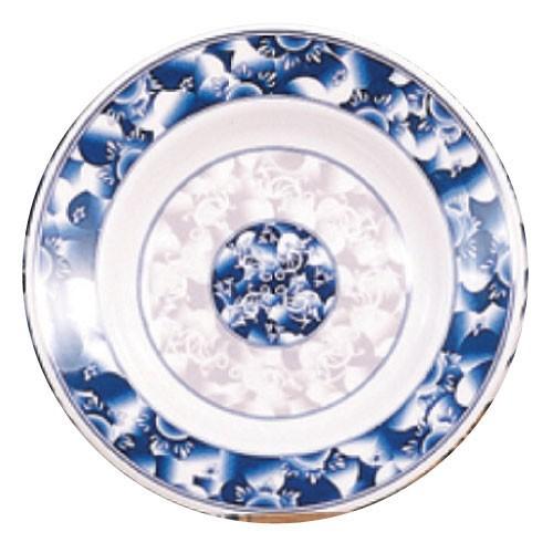 Blue Dragon Melamine Soup Plate - 7-7/8