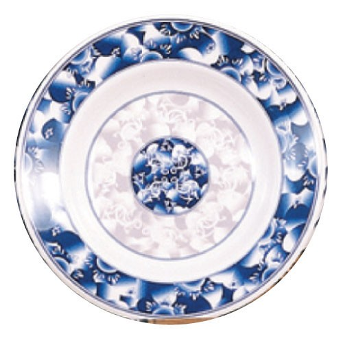 Thunder Group 1110DL Blue Dragon Melamine Soup Plate 12 oz.
