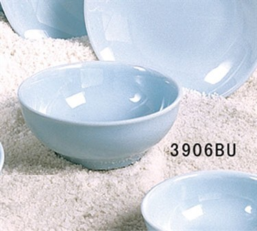 Thunder Group 3906 Blue Jade Melamine 18 oz. Bowl