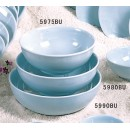 Thunder Group 5975 Blue Jade Melamine Bowl 42 oz., 7-1/2""