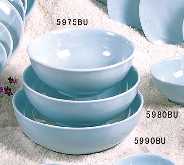 Thunder Group 5990 Blue Jade Melamine . Soup Bowl 74 oz., 9-1/4""