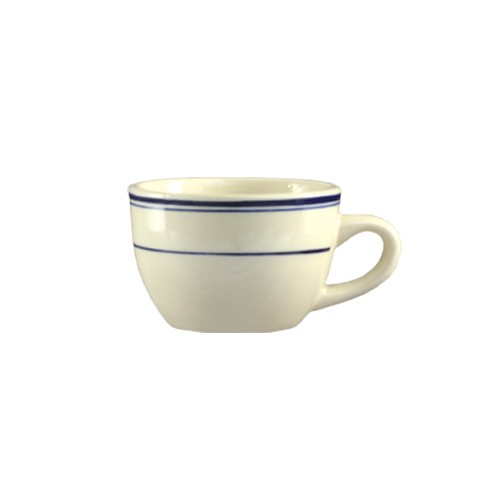 CAC China BLU-37 Blue Line Short Cup 7 oz.