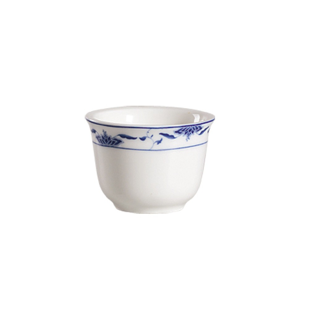 CAC China 103-55 Blue Lotus 5 oz. Cup
