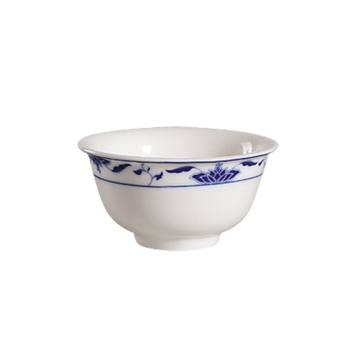 "CAC China 103-63 Blue Lotus 3-3/4"" Rice Bowl 6 oz."