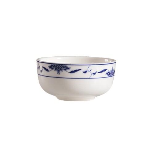 CAC China 103-95 Blue Lotus Jung Bowl 9 oz.
