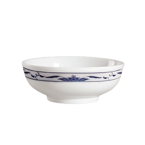 CAC China 103-MB8 Blue Lotus Soup Bowl 48 oz.