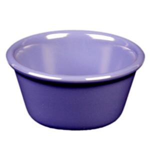 Thunder Group ML538BU Purple Melamine 4 oz. Smooth Ramekin 3-3/8""