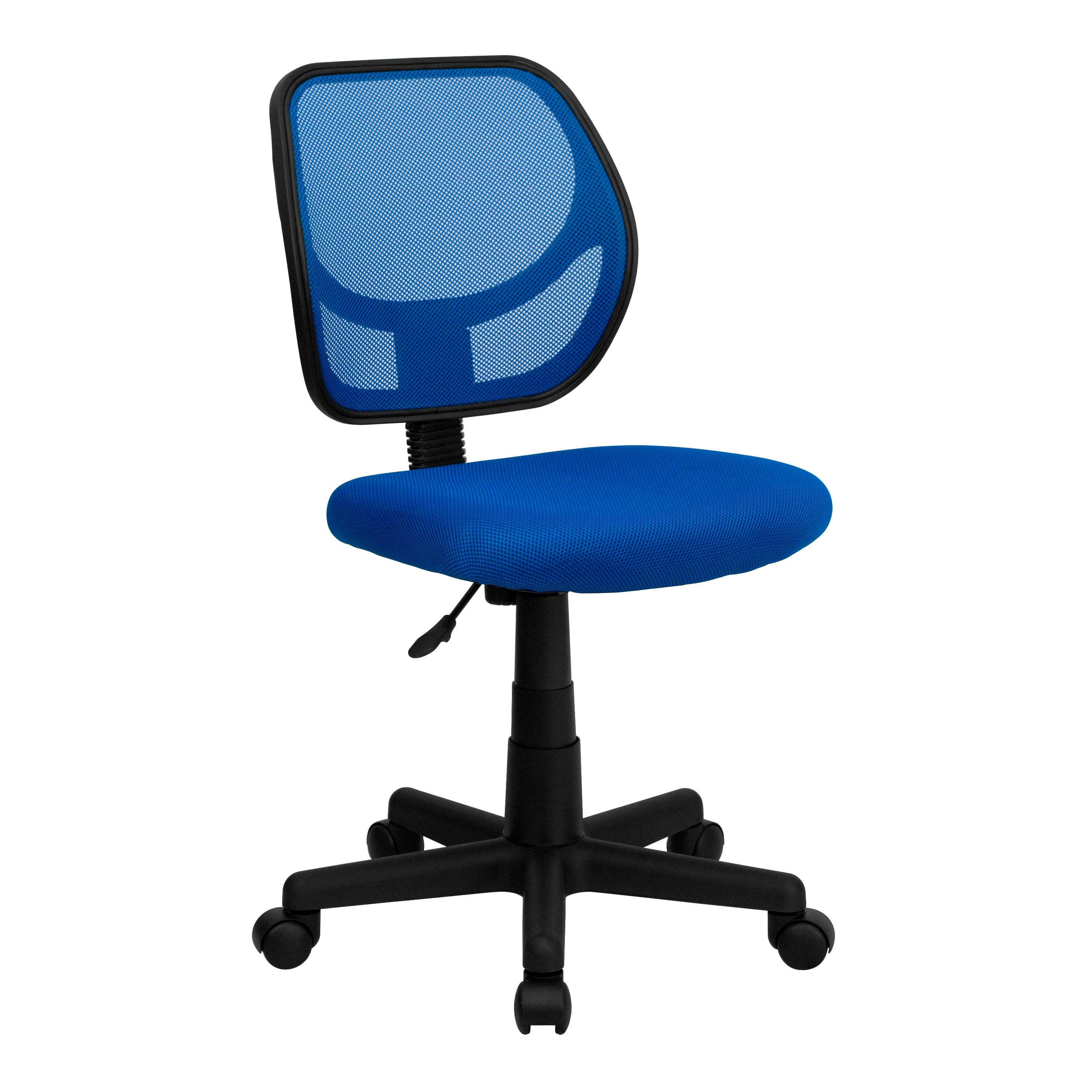 Flash Furniture WA 3074 BL GG Blue Mesh Computer Chair
