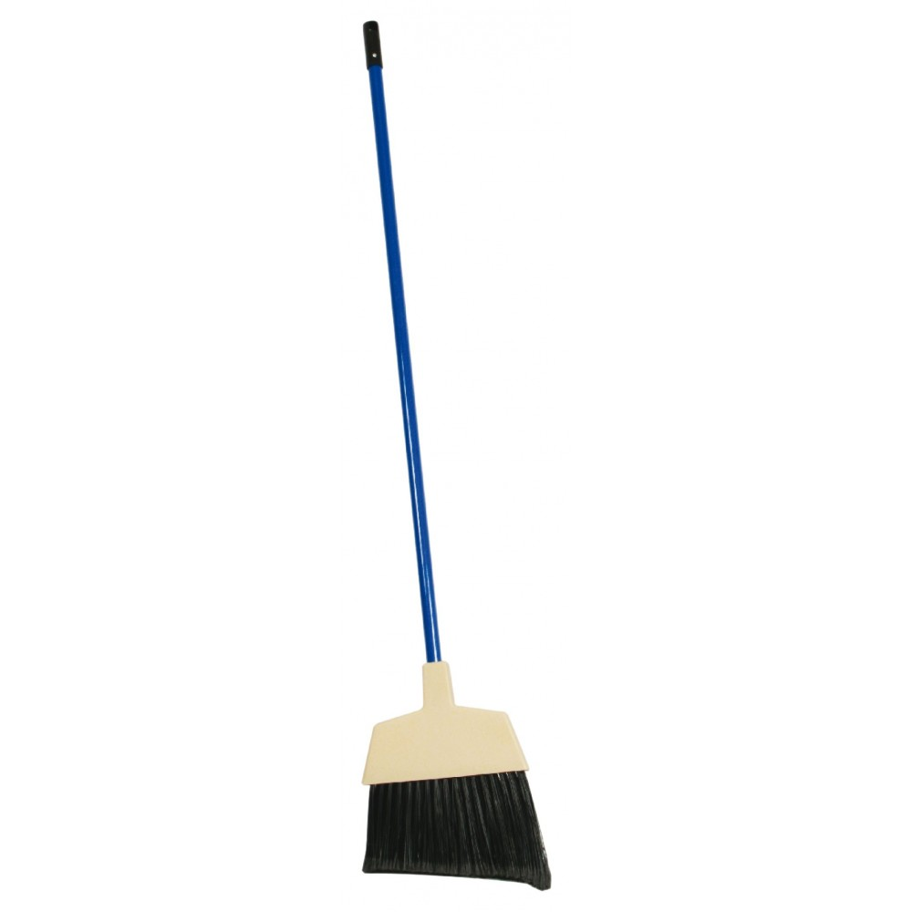 Blue Plastic Handle Lobby Broom - 60