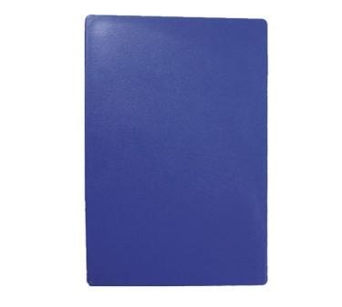 """TableCraft CB1520BLA Blue Polyethylene Cutting Board 15"""" x 20"""" x 1/2"""""""