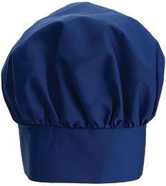 """Winco CH-13BL Blue Professional Chef Hat, 13"""""""