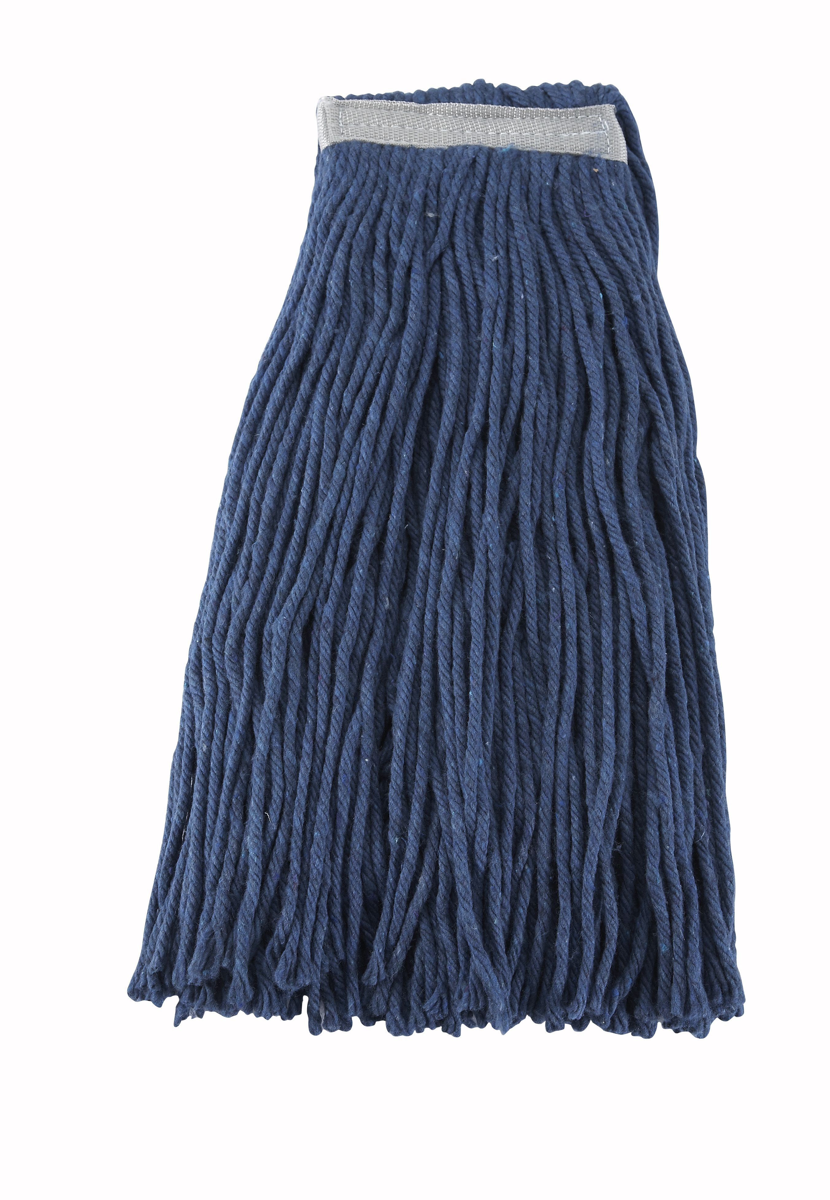 Blue Yarn Cut-End Wet Mop Head 600g 24 oz.