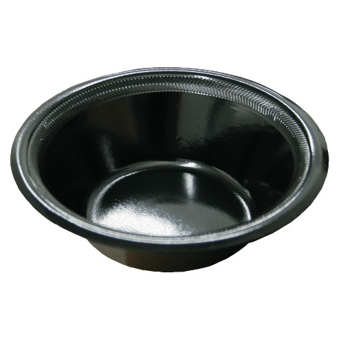 Boardwalk 12 Oz Laminated Black Foam Bowl (Box of 1000)