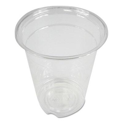 Boardwalk Clear Plastic Cold Cups, 12 oz., 1000/Carton