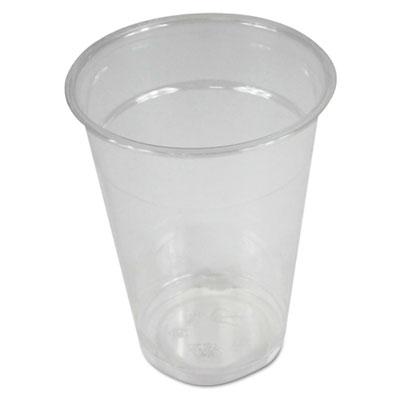 Boardwalk Clear Plastic Cold Cups, 9 oz., 1000/Carton