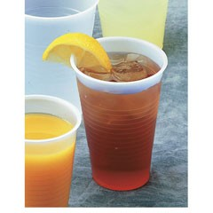 Boardwalk Cold Cup Straw-Slot Lids, Fits 24oz Cups, Clear (Box of 1020)