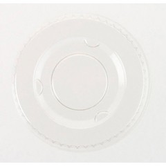 Boardwalk Plastic Souffl� Cup Lids, 5.5 oz., Clear (Box of 2500)