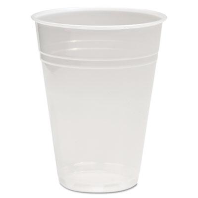 Boardwalk Translucent Plastic Cold Cups, 10 oz., 100/Pack