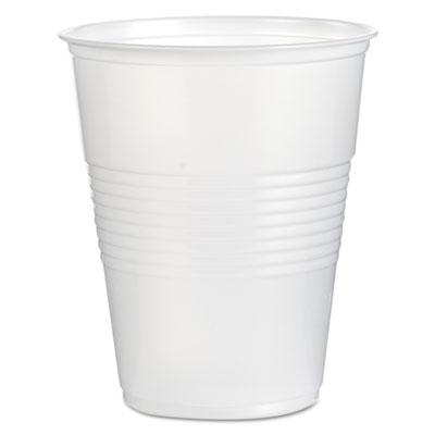 Boardwalk Translucent Plastic Cold Cups, 16 oz., 1000/Carton