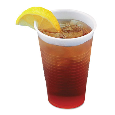 Boardwalk Translucent Plastic Cold Cups, 3 oz., 125/Pack