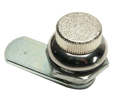Franklin Machine Products  141-2074 Bobrick #3944-143 Knob Latch, for Towel Dispensing/Waste Receptacle Unit