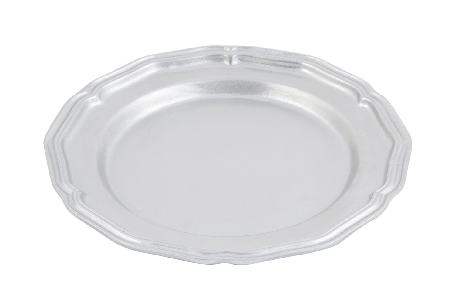 Bon Chef 1034P Queen Anne Dinner Plate Pewter Glo 10 1/2\  Dia  sc 1 st  LionsDeal & Bon Chef 1034P Queen Anne Dinner Plate Pewter Glo 10 1/2\