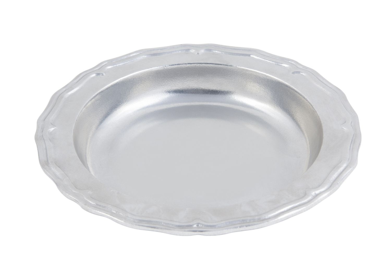 "Bon Chef 1035P Aluminum Serving Bowl, Pewter Glo 10 3/4"" Dia., Set of 3"