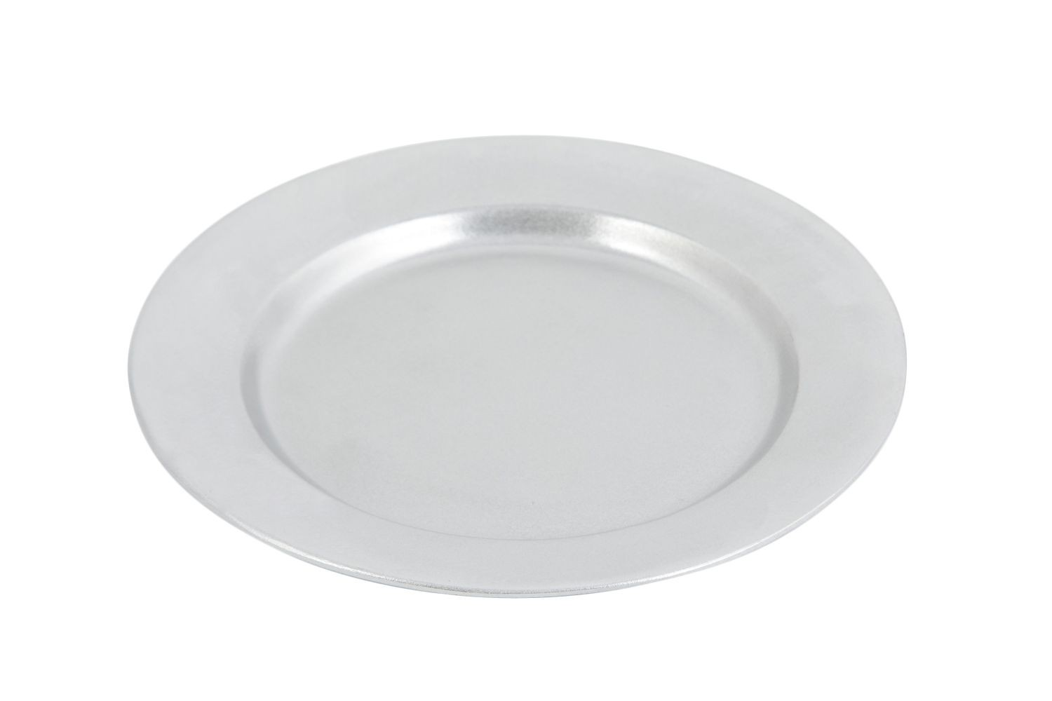 "Bon Chef 1043P Contemporary Dinner Plate, Pewter Glo 10 1/2"" Dia., Set of 3"