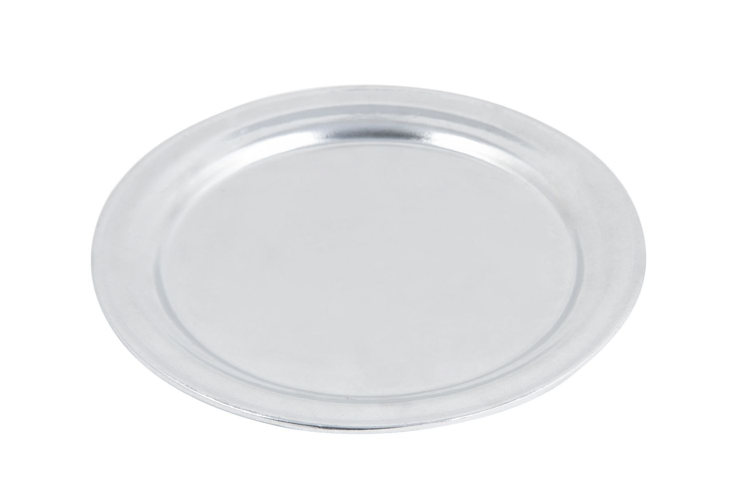 "Bon Chef 1096P Pewter Glo Narrow Rim 11"" Service Plate, Set of 6"
