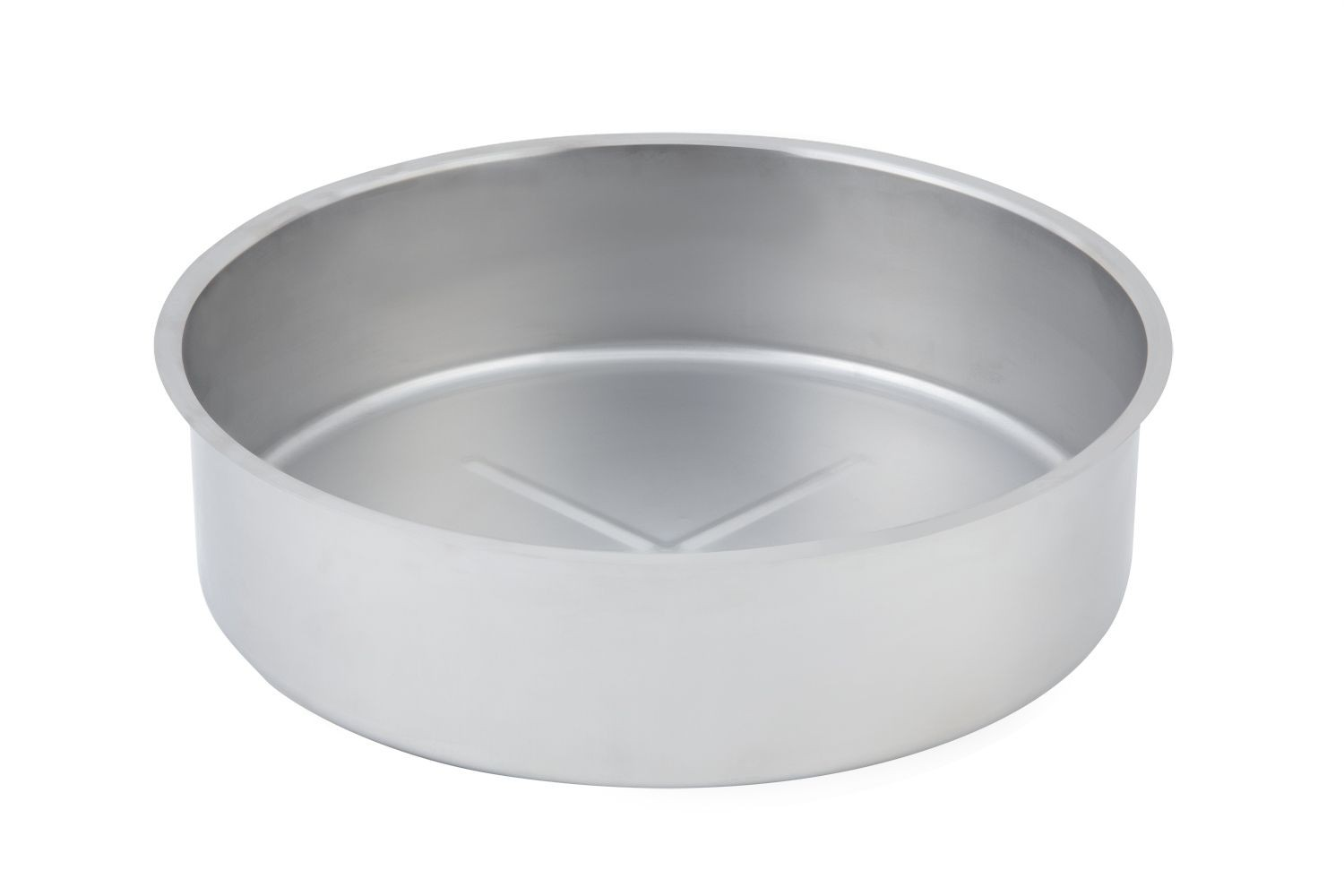 """Bon Chef 12002D Stainless Steel Extra Deep Water Pan for 12000, 15 1/4"""" Dia., 4 1/2"""" H."""