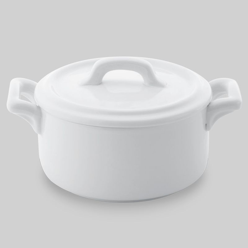 """Bon Chef 1600003P Cocottes Cover for 4"""" Round Baker Base, Set of 36"""