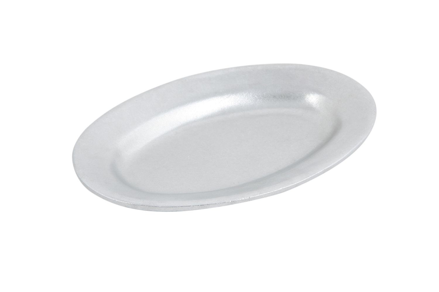"Bon Chef 2010P Oval Serving Platter, Pewter Glo 6"" x 9"", Set of 3"