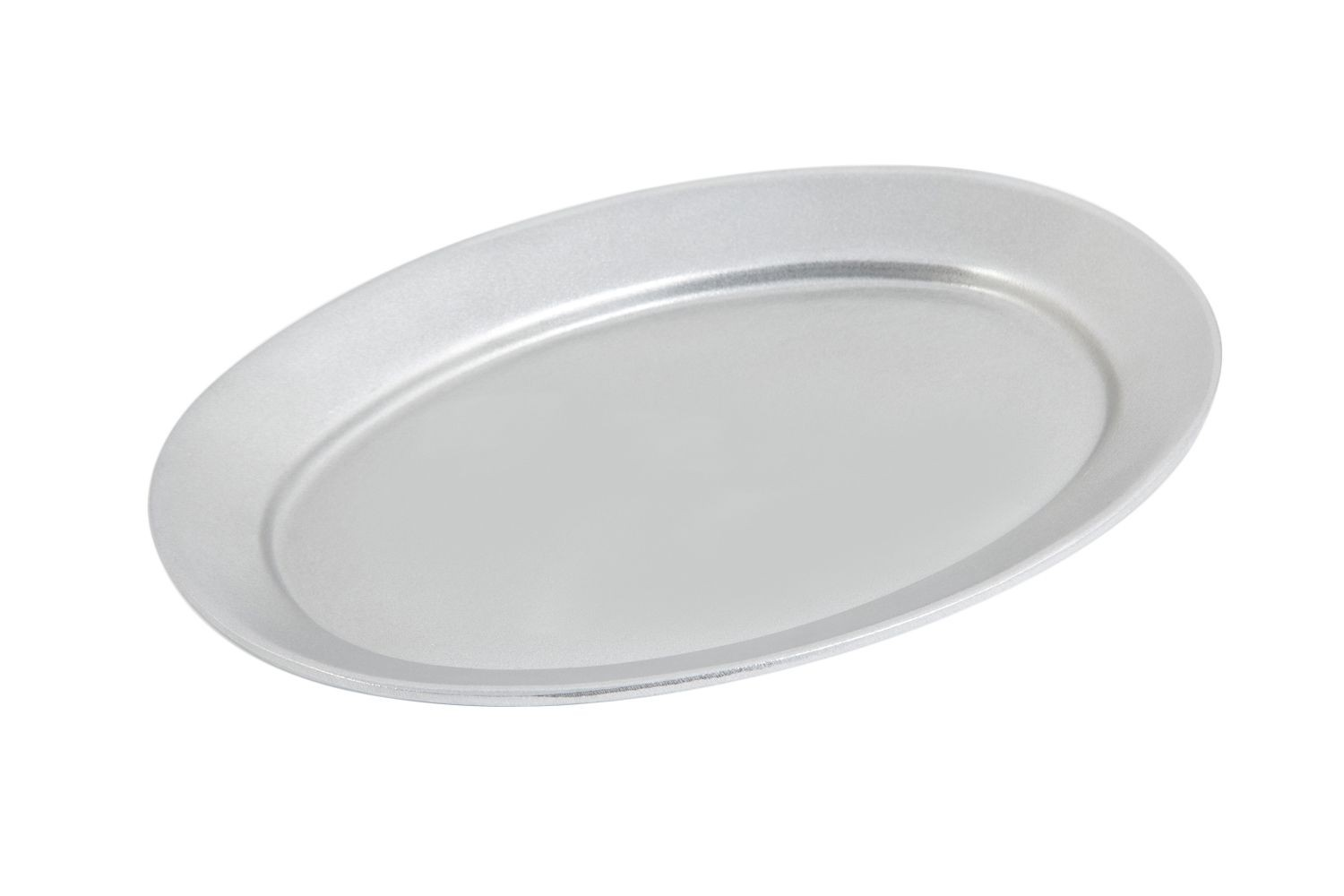 "Bon Chef 2015P Oval Platter, Pewter Glo 8 1/4"" x 12"", Set of 3"